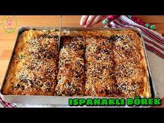ISPANAKLI BÖREK/HAZIR YUFKA İLE ÇOK PRATİK/ŞEFFAF MUTFAK - YouTube Homemade Beauty Products, Appetisers, Banana Bread, Desserts, Recipes, Serbian, Youtube, Food, Recipe