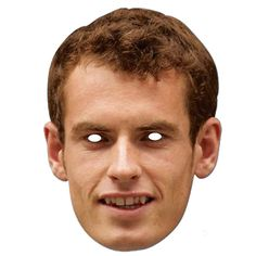 Andrew Murray Celebrity Party Mask Sold Single Approx Size: Height: 11 Inches (28cm) Width: 8 Inches (20cm) Material: High Quality Cardboard Product may var
