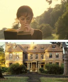 "PRIDE & PREJUDICE (Jane Austen): ""One must always be careful of books, and what is inside them, for words have the power to change us. Love Movie, I Movie, Movies Showing, Movies And Tv Shows, Pride And Prejudice 2005, Jane Austen Novels, Bon Film, Mr Darcy, Nerd"