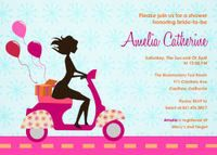 Bridal Shower Invitations - Retro Chic