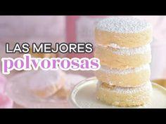 RECETA DE GALLETAS POLVOROSAS, SÓLO CON 4 INGREDIENTES - AnnasPasteleria - YouTube Venezuelan Recipes, Venezuelan Food, Tostadas, Vanilla Cake, Anna, Sky, Cookies, Sweet, Youtube