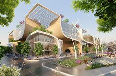 Cidades do futuro se inspiram na ficção científica