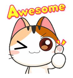 Gojill The Meow Animated Cartoon Gifs, Cartoon Images, Cute Cartoon, Cute Drawings Of Love, Cute Animal Drawings, Cute Love Gif, Cute Cat Gif, Animated Smiley Faces, Animated Gif