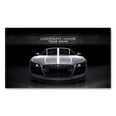 Stylish automotive business card. This is a fully customizable business card and available on several paper types for your needs. You can upload your own image or use the image as is. Just click this template to get started!