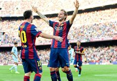 Messi the best ever and he should stay at Barcelona, says Ivan Rakitic