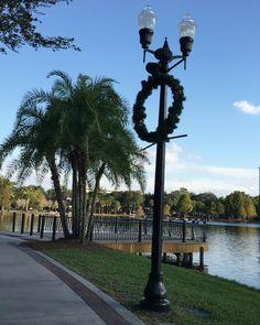 Lake Eola Orlando Fl, Christmas 2015 WG
