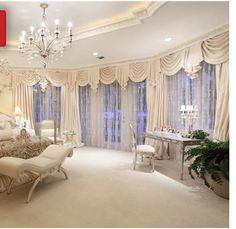 luxus schlafzimmer design ideen bett kronleuchter bedienungstisch ... - Luxus Schlafzimmer Design