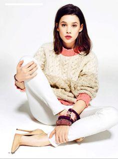 Astrid Berges-Frisbey in Telva Magazine