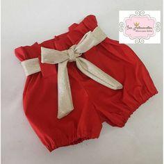 Compre Tapa fralda/short natal menina no Elo7 por R$ 50,00 | Encontre mais produtos de Roupa para Bebê e Beb