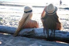 Sun, sand, surf....and fedoras