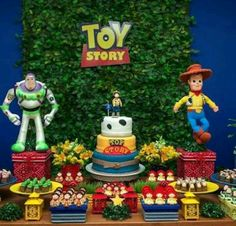 Festa toy story, decoração Toy Story