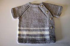Hand Knit Baby Jacket