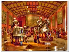 Photos of museum's with knights and their horse's armor : theBRIGADE