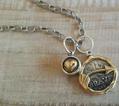 Grace & Heart Sterling Silver, Brass & Semi Precious Stones Handcrafted Jewelry!  www.mygraceandheart.com/heatherlefebvre