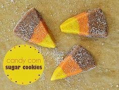 eighteen25: Candy Corn Cookies