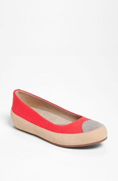 FitFlop 'Due' Canvas Flat available at #Nordstrom