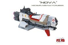 """""""Nova"""" Medium Assault Cruiser   by Rancorbait"""