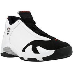 Nike - Air Jordan 14 Retro Black Toe - Coleur: White Size 7.5 US USD 279.99