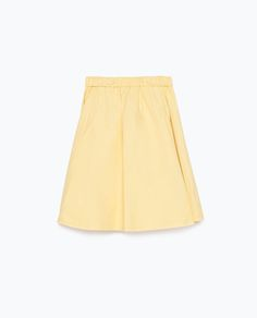 SKIRT WITH ELASTIC WAIST from Zara
