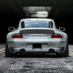 Porsche 996 Turbo with wide hips!  Picture Credit: @porschekwt | #911LegendsNeverDie