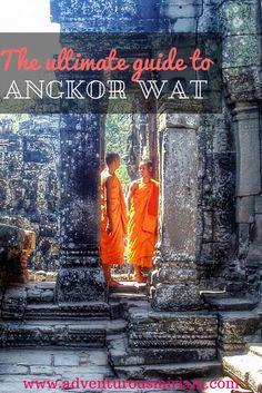 Best tips for visiting Angkor Wat #Cambodia #travel #angkorwat