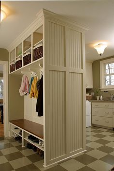 coat rack - incorporate into Not So Big concept of one entry/command center