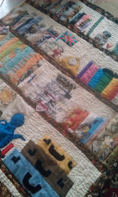 just one more patch of hand quilting to go on my book quilt Book Quilt, Hand Quilting, Book Making, Kitchen Furniture, Patches, Quilts, Blanket, Hand Embroidery, Kitchen Units