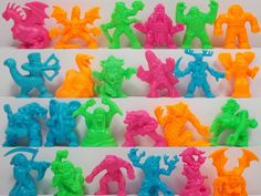 Monster In My Pocket -- Series 2 -- Complete Set X 24 Mini Figures 14 My Pocket, Classic Toys, Mini