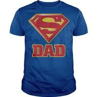Superman Super Dad t shirts and hoodies