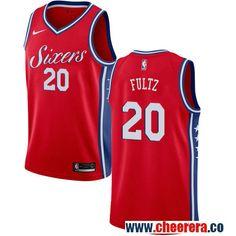 fb4e73b38 Philadelphia 76ers  20 Markelle Fultz Red Nike NBA Men s Stitched Jersey