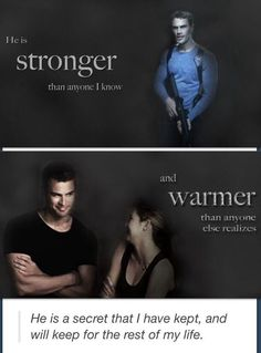 Divergent Quote Look at their cute little smiles:)