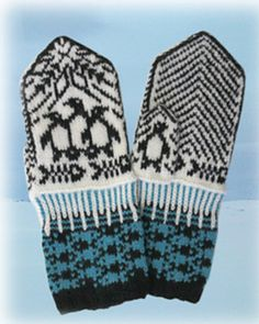 Ravelry: South Pole mittens pattern by Jorid Linvik Knitted Mittens Pattern, Fair Isle Knitting Patterns, Knitting Charts, Knitted Gloves, Knitting Socks, Baby Knitting, Knitted Christmas Stockings, Christmas Knitting, Patterns