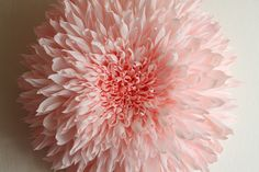 This is quite possibly the most gorgeous paper flower I have ever seen, and will ever see.