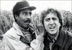 Richard Pryor and Gene Wilder... hear no evil, see no evil