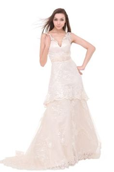 Moonar Lace Gorgeous Long Evening Party Dress Prom Gowns White LF078 US 10/ UK 14 Moonar,http://www.amazon.com/dp/B009VU2BDY/ref=cm_sw_r_pi_dp_mm6psb1DHWKV39G5