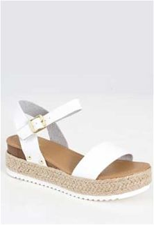 e436ebc9486 Soda+Shoes+Clip+Espadrille+Platform+Sandals+in+White+CLIP-S+WHITE ...