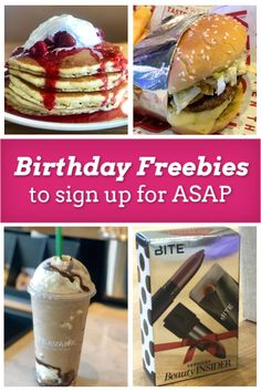 Birthday Rewards, Birthday Freebies, Birthday Parties, Birthday Breakfast, Get Free Stuff, Money Makers, Time To Celebrate, Free Gifts, Articles