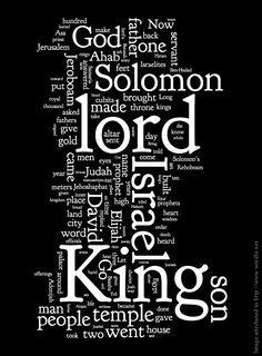 11/12 Libri dei Re Il primo libro è composto da 22 capitoli descriventi la morte di Davide, Salomone, la scissione del Regno di Israele dal Regno di Giuda, il ministero del profeta Elia e i vari re di Israele e Giuda, eventi datati attorno al 970-850 a.C. Il secondo libro è composto da 25 capitoli descriventi il ministero dei profeti Eliseo e Isaia, vari re di Israele e Giuda, la distruzione e deportazione del Regno di Israele e del Regno di Giuda, eventi datati attorno all'850-587
