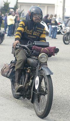 Shinya Kimura - 1915 Indian Motorcycle