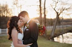 winter wedding | St. Leo's Catholic Church   Adaumont Farm Wedding in Winston-Salem NC | Julia Laible Photography