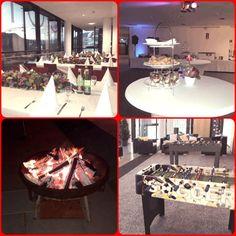 Feuerschale Fußball Tisch Firmen Feier Congress Center Villach Party Service, Table Settings, Table Decorations, Furniture, Home Decor, Organisation, Villach, Celebration, Table