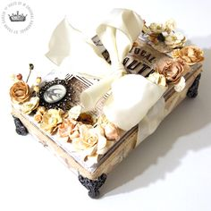 Shabby Chic Treasure Box **Project W022/ Paper Issues CT Work** - Scrapbook.com