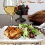 Honey, Garlic and Ginger Glazed Chicken Thighs