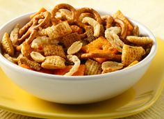 Steakhouse Chex® Mix  - This is one of my FAVORITE snack mixes!!