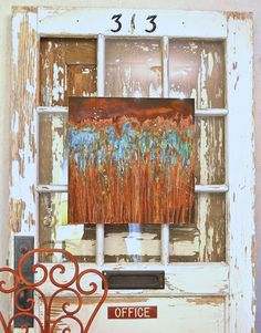 Effortless artsy, rusty, crusty effects   How to Patina Canvas Art Tutorial   Modern Masters