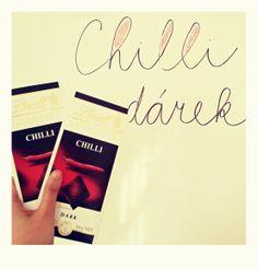 Chilli dárek. Opepřete zážitek naši štiplavou čokoládou.
