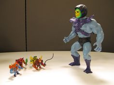 Skeletor commands his Mini-ions. Only at MattyCollector.com #entertainment #toys