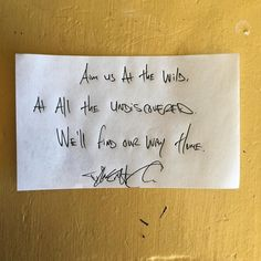 By author Tyler Knott: Aim us at the wildat all the undiscovered.Well find our way home. Daily Haiku on Love by Tyler Knott Gregson Chasers of the Light & All The Words Are Yours are Out Now! #tylerknott #writinglife #favouriteauthor