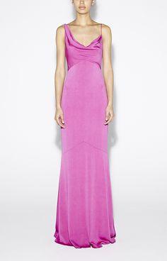 Aislin Crepe Gown - Dresses