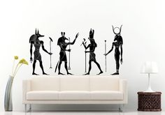 Hey, I found this really awesome Etsy listing at https://www.etsy.com/listing/237843698/various-egyptian-gods-and-goddess-wall